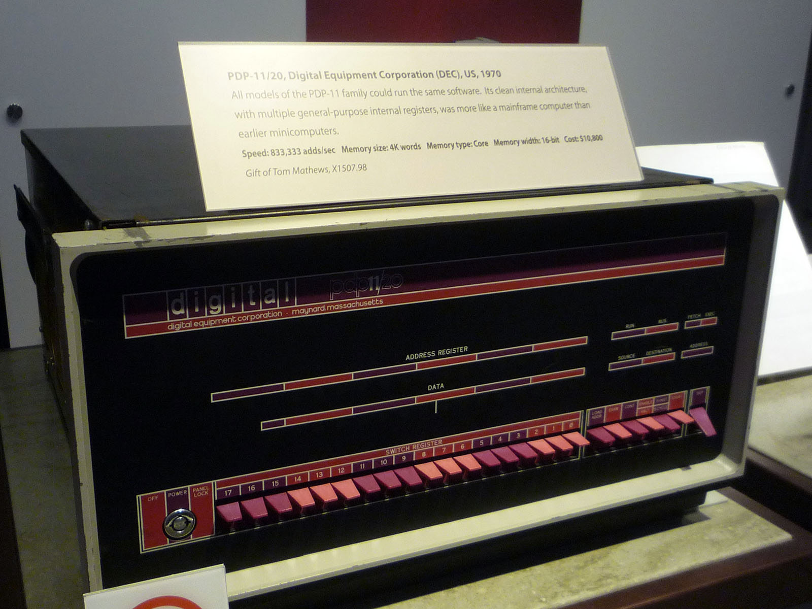 DEC PDP-11/20