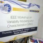 VMC2012 signboard
